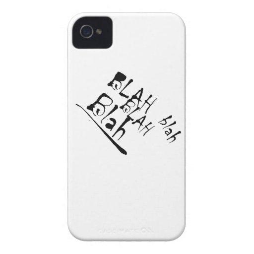 BLAH BLAH BLAH Case-Mate iPhone 4 CASE