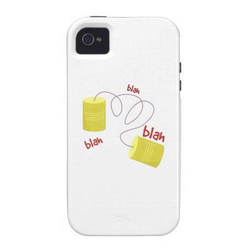 Blah, Blah, Blah iPhone 4 Cases