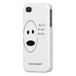 Blah Blah Blah iPhone 4 Cover