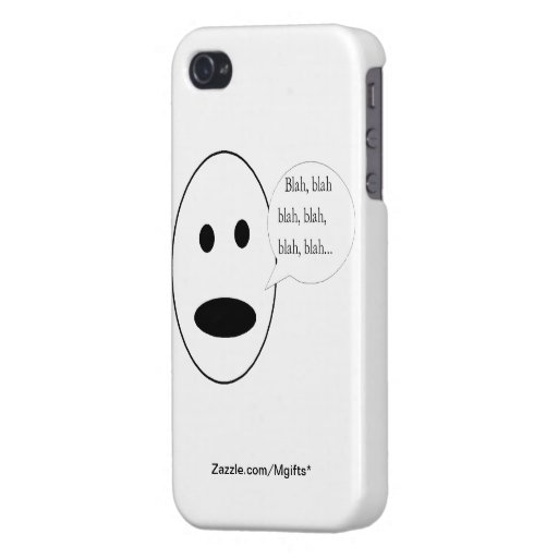 Blah, Blah, Blah... iPhone 4 Cover