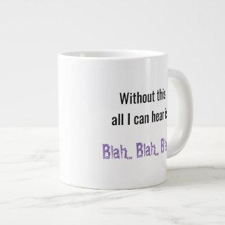 Blah Blah Blah Large Coffee Mug