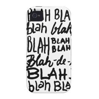 Blah Blah Blah Vibe iPhone 4 Case