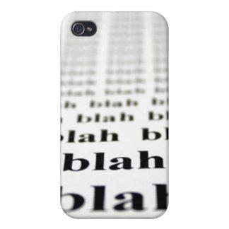 Blah Blah Talking iPhone Case iPhone 4/4S Cover