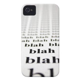 Blah iPhone 4 Case-Mate Case