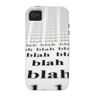 Blah Vibe iPhone 4 Covers