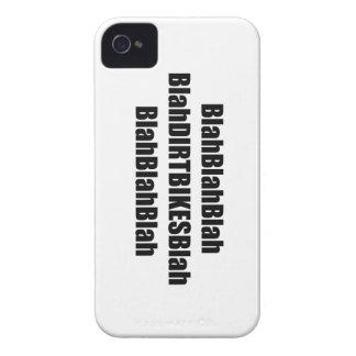 Blah Dirt Bikes Blah iPhone 4 Case