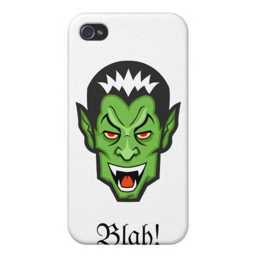 Blah iPhone 4/4S Cover