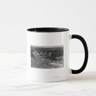 Blaine, WA Birds Eye View and Int. Peace Arch Mug