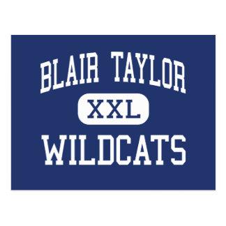 Blair Taylor - Wildcats - High - Blair Wisconsin Postcard