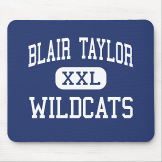 Blair Taylor Wildcats Middle Taylor Mouse Pads