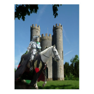 Blaise castle's Knight Postcard