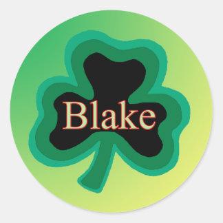 Blake Family Round Sticker