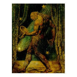 Blake Ghost of a Flea Fine Art Postcard
