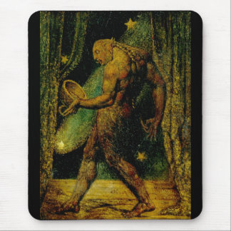 Blake Ghost of a Flea Mouse Pad