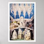 Blake Poster Print: When the Morning Stars Sang...