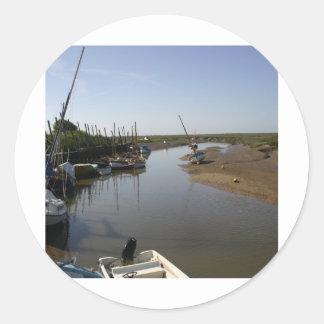 Blakeney, Norfolk Classic Round Sticker