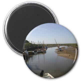 Blakeney, Norfolk 6 Cm Round Magnet