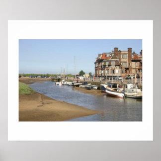 Blakeney Quay, Norfolk Posters