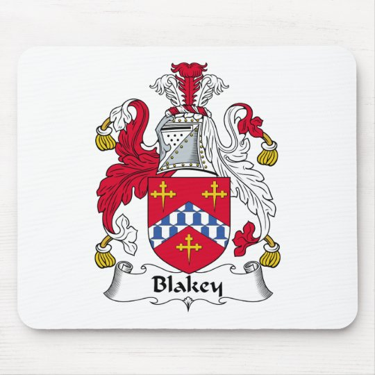 Blakey Family Crest Mouse Mat