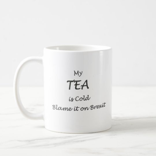 Blame it on Brexit Dog Mugs