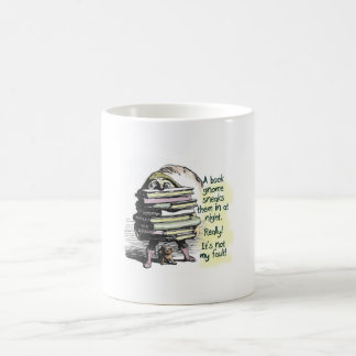 Blame it on the Book Gnome Coffee Mug