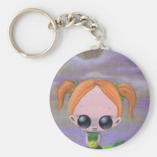 blame it on the flowers keychain