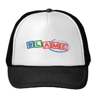 Blame me trucker hat