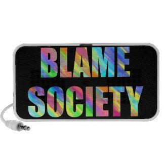 Blame Society Mp3 Speakers