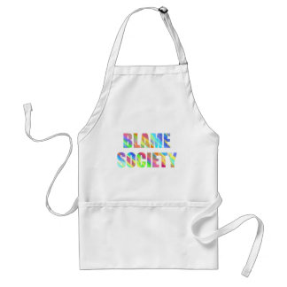 Blame Society Standard Apron