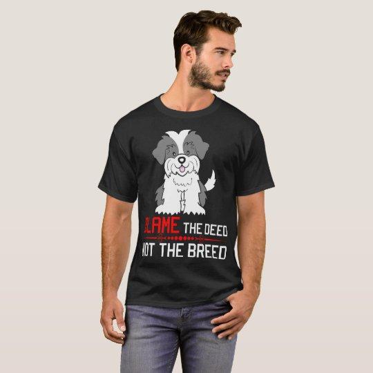 Blame The Deed Not The Breed Shih Tzu
