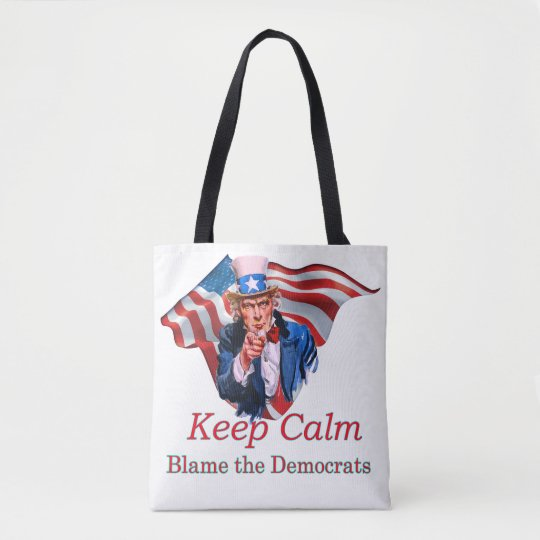 Blame the Democrats Tote Bag