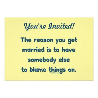 Blame Things On Invite