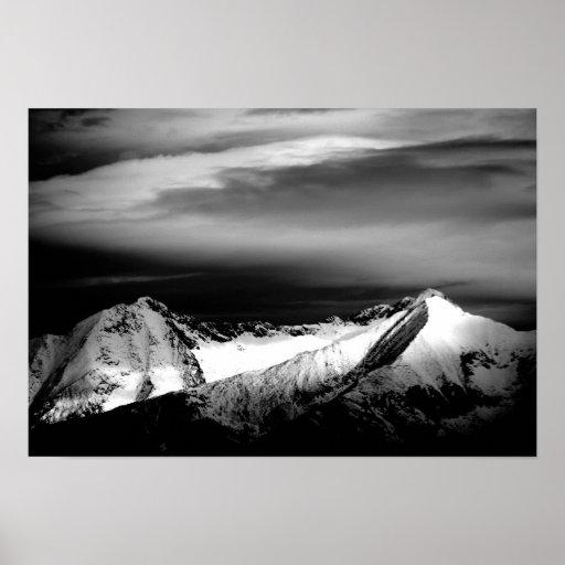 Blanca and Hamilton Peaks Poster