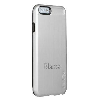 Blanca Ultra light Silver Finish iPhone 6 case Incipio Feather® Shine iPhone 6 Case