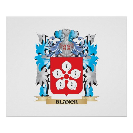 Blanch Coat of Arms Print