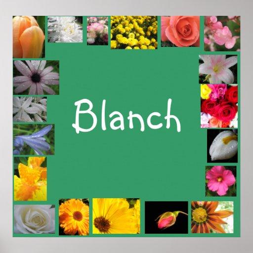 Blanch Print