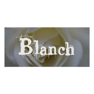 Blanch Poster