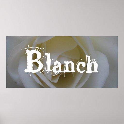 Blanch Poster