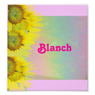 Blanch Posters