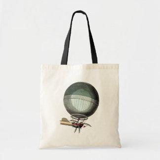 Blanchard Vintage Hot Air Balloon Budget Tote Bag