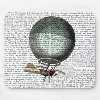 Blanchard Vintage Hot Air Balloon Mouse Mat