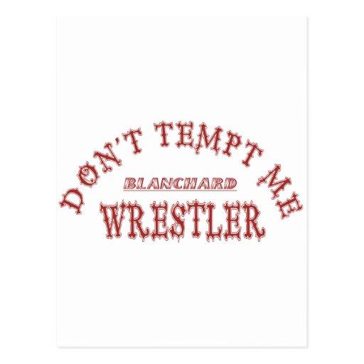 Blanchard Wrestler Postcards