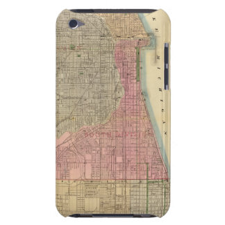 Blanchard's guide map of Chicago iPod Touch Cases