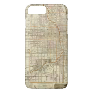 Blanchard's guide map of Chicago iPhone 8 Plus/7 Plus Case
