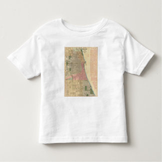Blanchard's guide map of Chicago Toddler T-Shirt