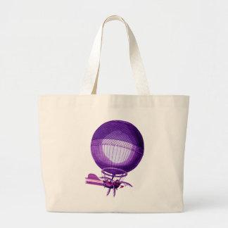 Blanchards Hydrogen (Purple) Hot Air Balloon Jumbo Tote Bag