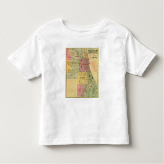 Blanchard's map of Chicago and environs Toddler T-Shirt