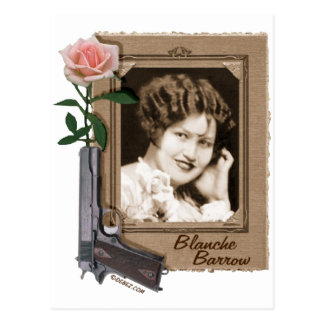 Blanche Barrow Postcard