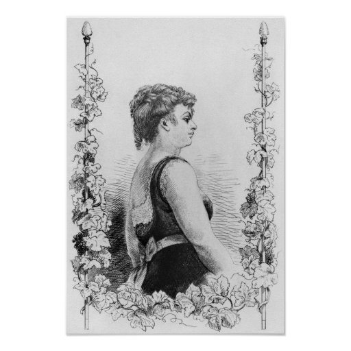 Blanche d'Antigny Poster