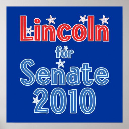 Blanche Lincoln for Senate 2010 Star Design Posters